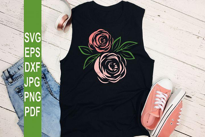 Rose SVG | Roses SVG file for crafters