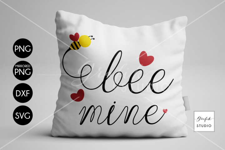 Bee Mine Valentine SVG File