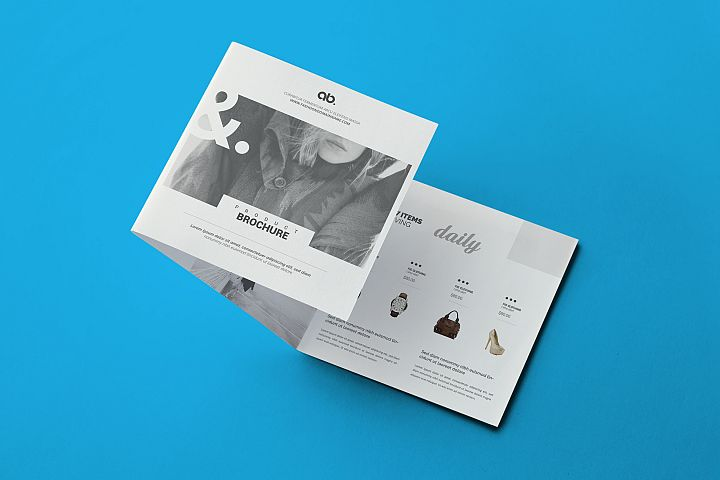 Fashion - Square Tri-Fold Brochure
