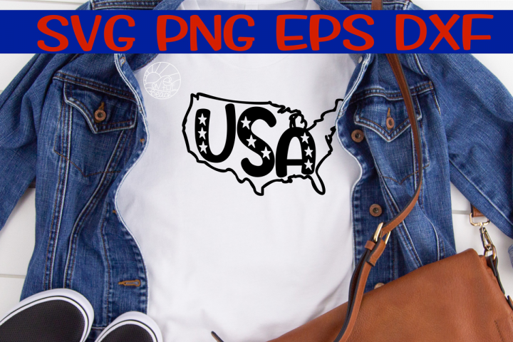 USA - Map - SVG - DXF - EPS -PNG