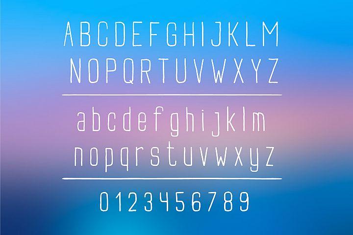 Buxton Font. example image 2