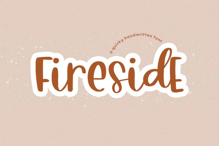 Fireside - A Quirky Handwritten Font