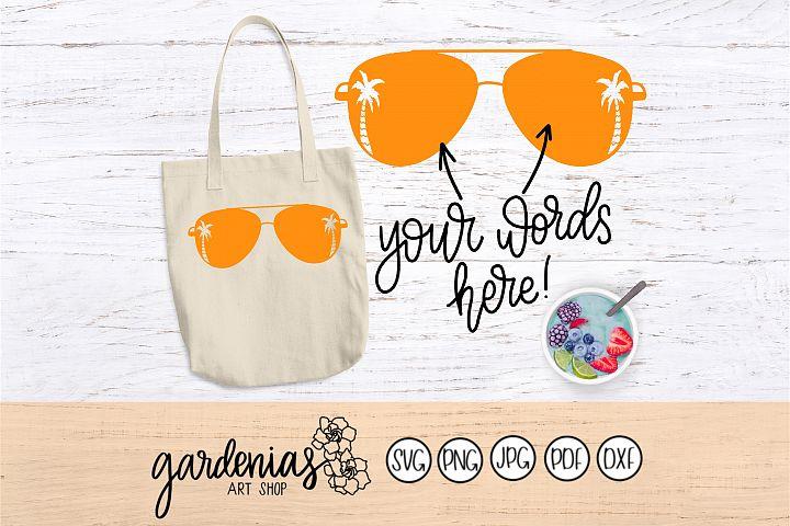 Sunglasses with Palm Trees   Paradise Sunglasses