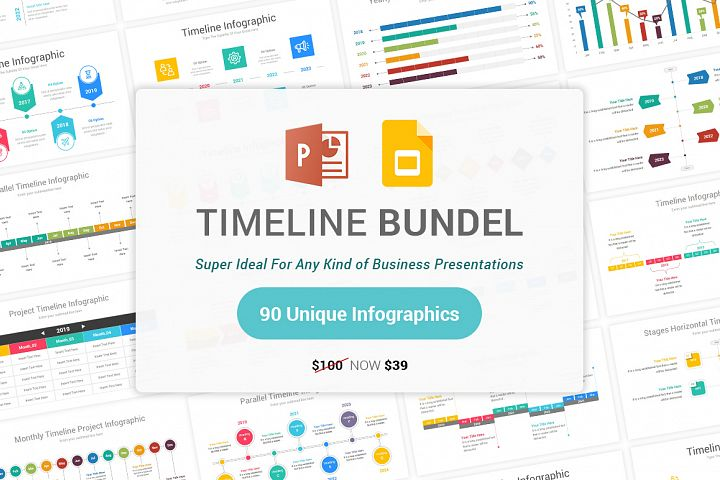 Timeline Bundle Template