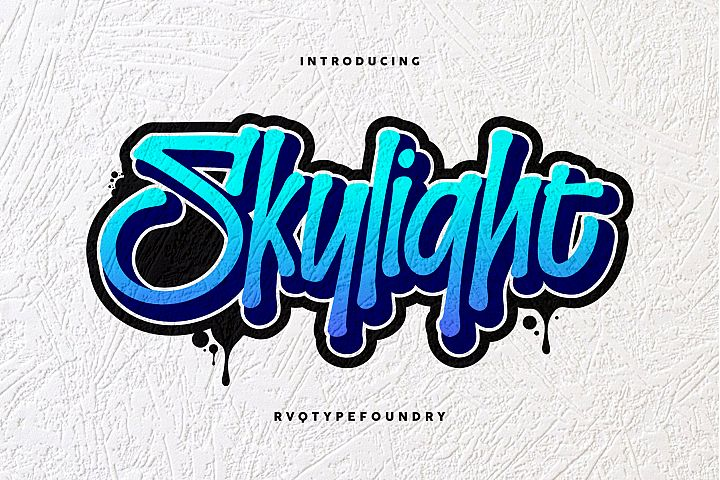 Skylight Graffiti