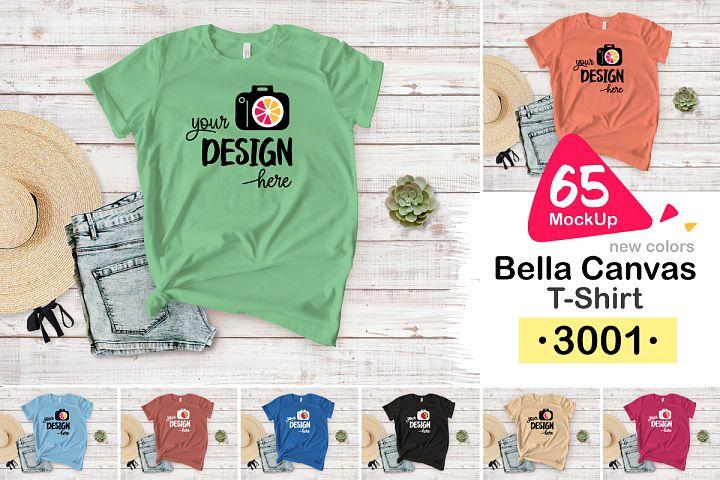Bella Canvas 3001 Women T-Shirt 003 NEW COLOR