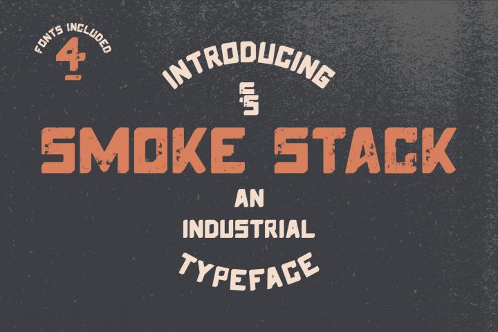 Smoke Stack - Industrial San-Serif