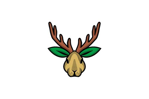 Jackalope Rabbit Farm Logo