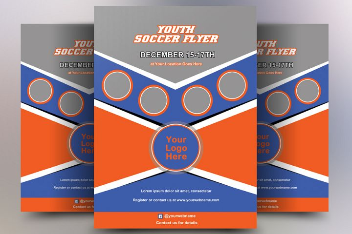 Youth Soccer Flyer