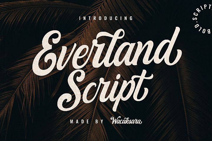 Everland Script