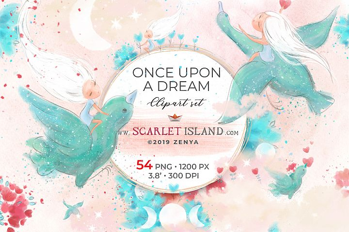 Once Upon A Dream Clipart
