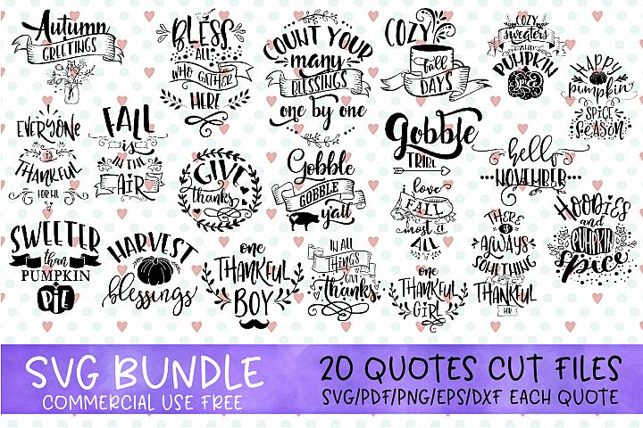 Thanksgiving bundle vol 2 svg Gobble SVG Pumpkins svg Turkey
