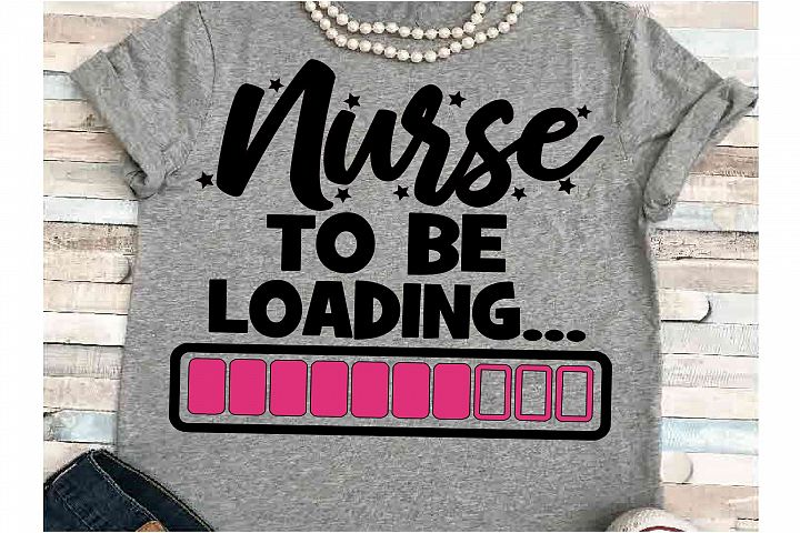 Nurse SVG DXF JPEG Silhouette Cameo Cricut to be loading