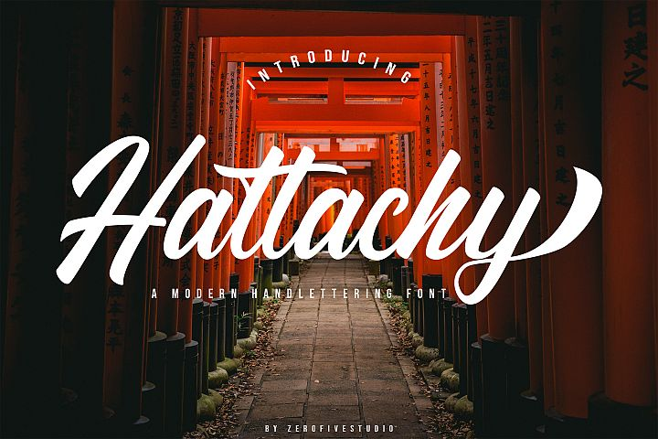 Hattachy Modern Handlettering
