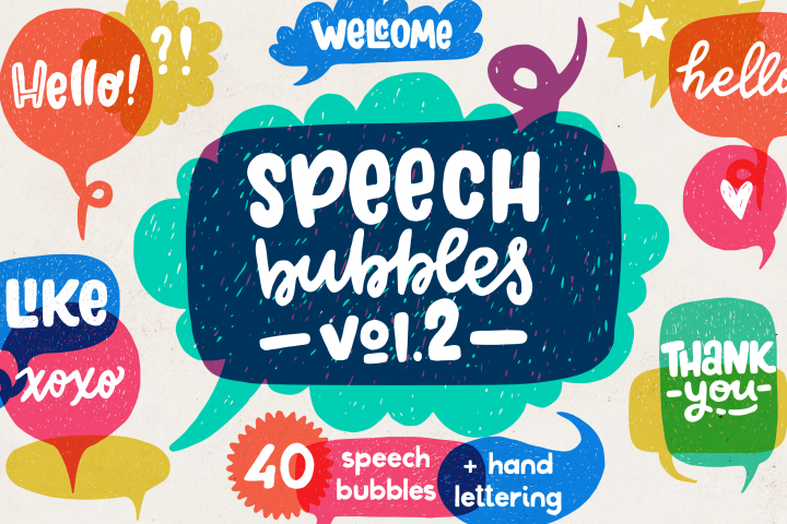 Speech Bubbles collection. Vol. 2