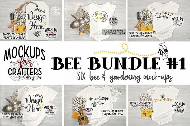 BEE BUNDLE #1 - SIX MOCK-UPS