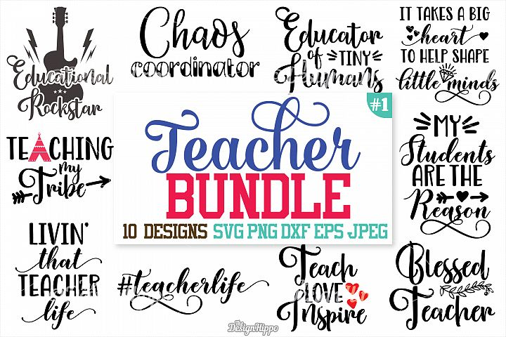 Teacher, SVG, Teacher SVG Bundle, Teacher Bundle, Cut files