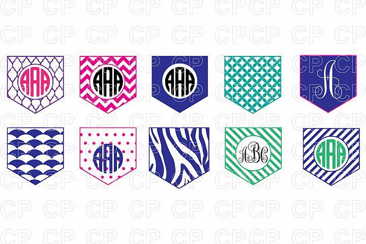 Pocket Shirt Bundle SVG Cut Files, Pocket Shirt Clipart