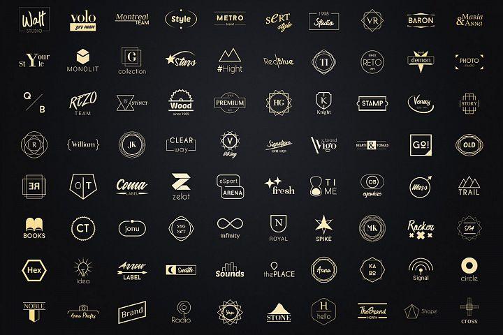 Minimalist Logos - Bundle Set
