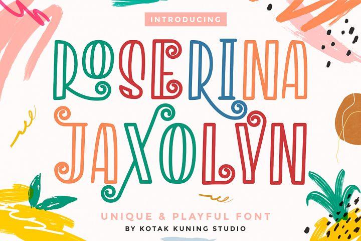 Roserina Jaxolyn