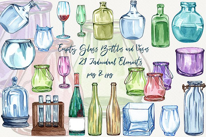 Glass Watercolor Collection