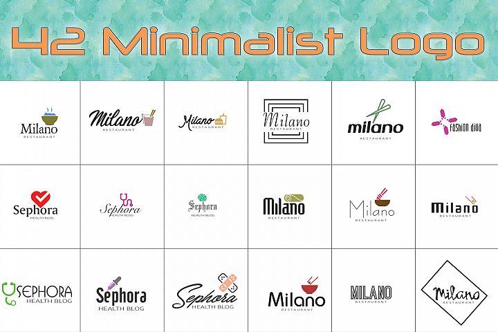 42 Mix Minimalist Logo