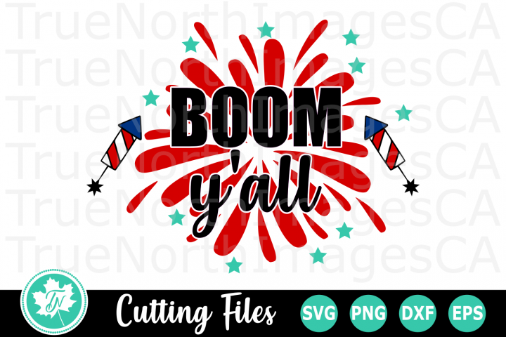 Boom Baby - An American SVG Cut File