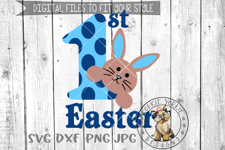 My First Easter Boy - 1st - SVG cut file