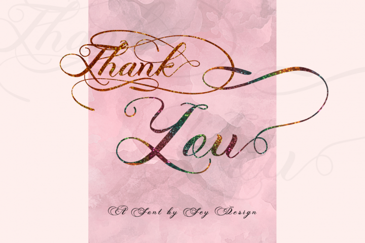 Photograph - Script Wedding Font - Free Font of The Week Design6