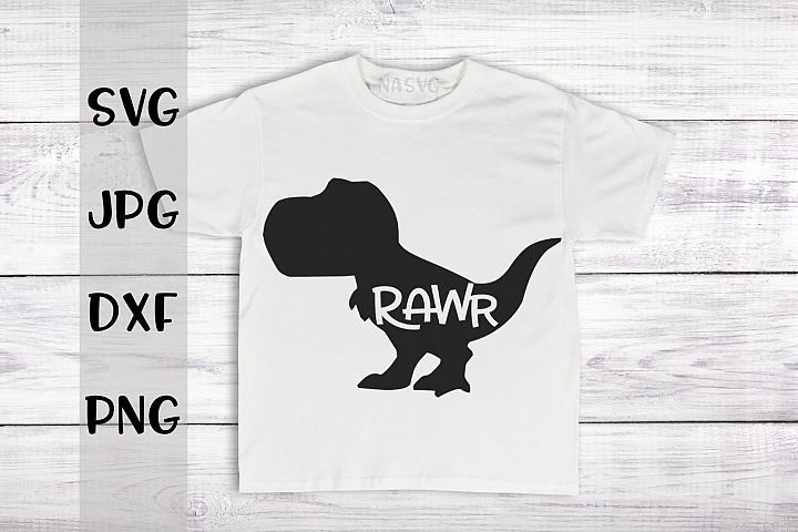 T-Rex,RAWR, SVG for crafters