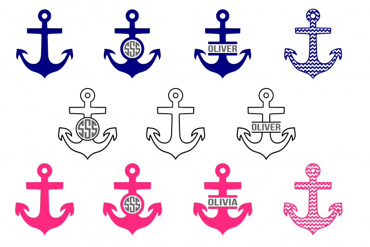 Anchor svg, nautical svg, sailing svg example 2