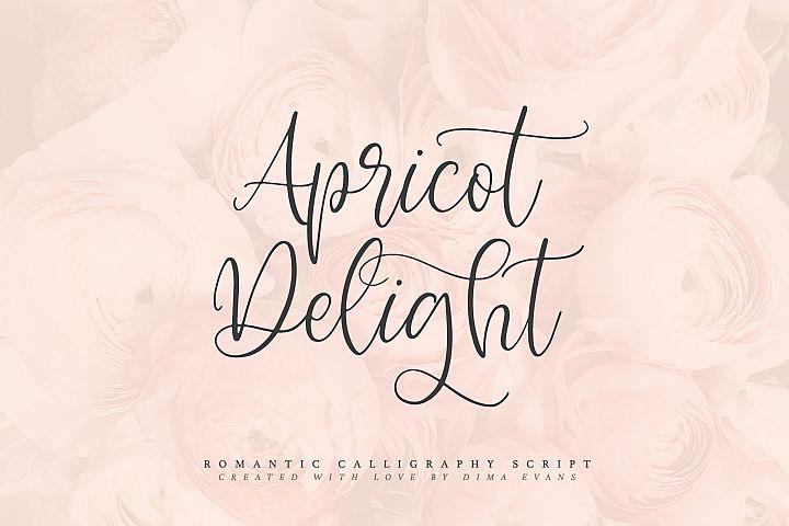 Apricot Delight | Romantic Script