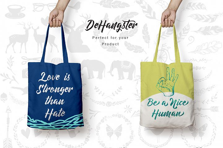 DeHangster Typeface - Free Font of The Week Design 2