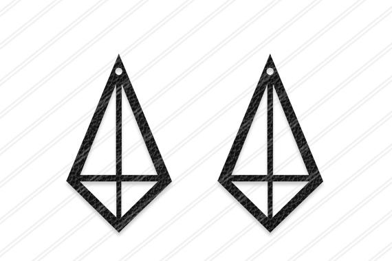 Diamond Earrings svg, Jewelry svg, leather jewelry, Cricut