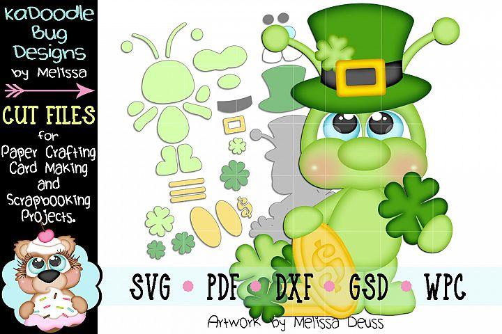 Lucky Leprechaun Cricket Cut File - SVG PDF DXF GSD WPC