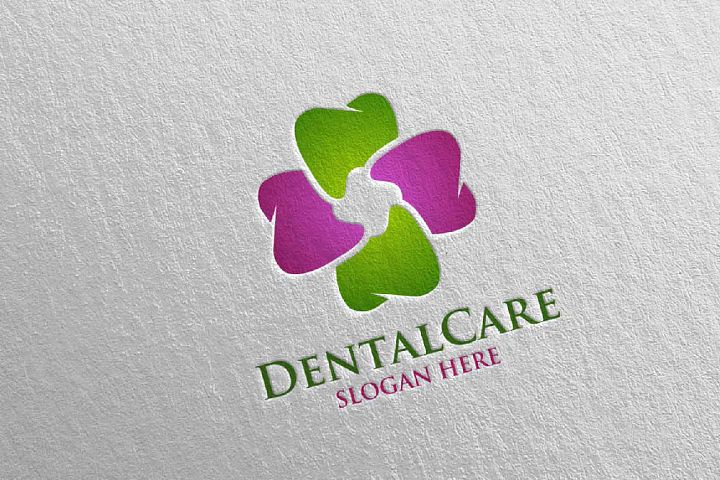 Dental Logo, Dentist Stomatology Logo Design 36