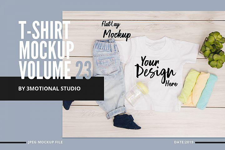 T-Shirt Mockup Volume 23