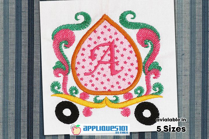 Marriage Baggi Machine Embroidery Applique Design - Baggis