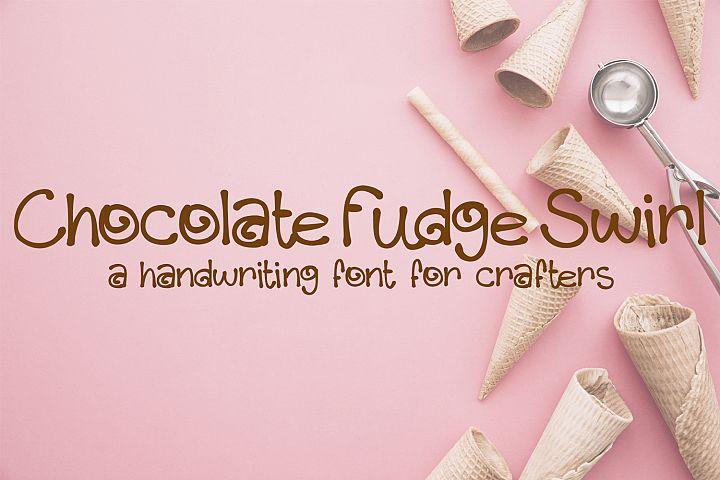 Chocolate Fudge Swirl