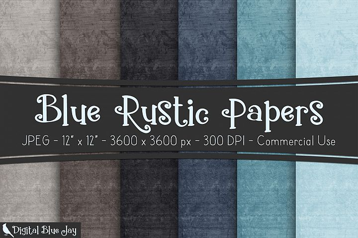 Digital Paper Textured Backgrounds - Morning Fog