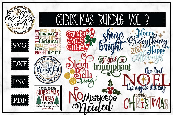 Christmas Bundle Volume 3 - A Christmas SVG Collection