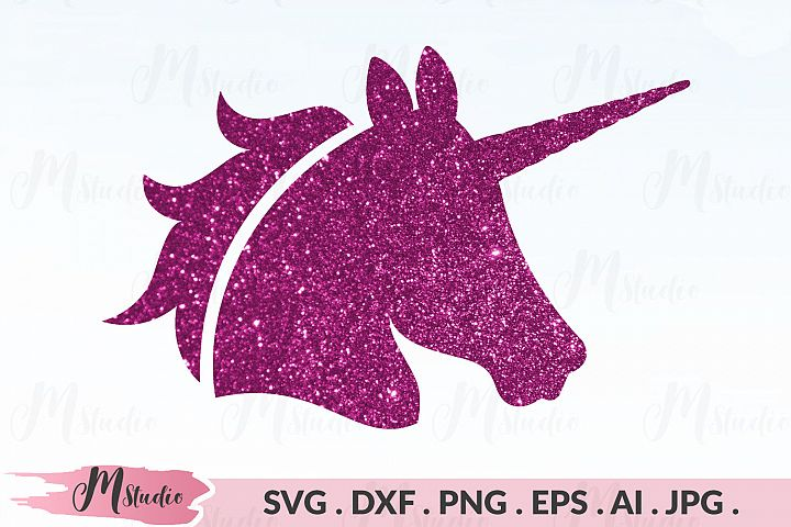 Unicorn Head SVG
