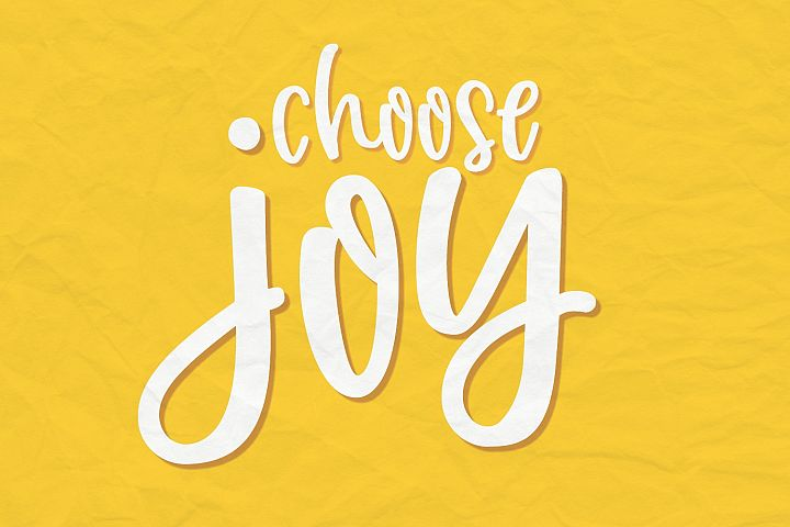Joyfully | Smooth Handwritten Font example image 3