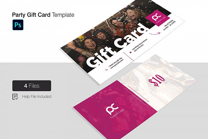 Party Gift Card