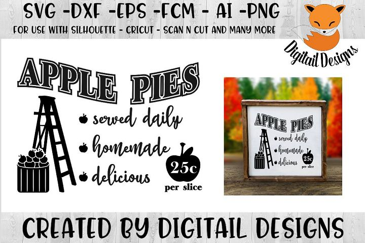 Apple Pies Farmhouse SVG