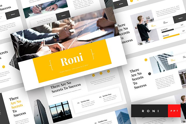 Roni - Business PowerPoint Template