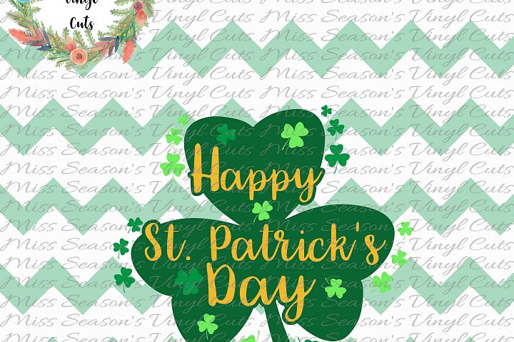 Happy Saint Patricks Day SVG