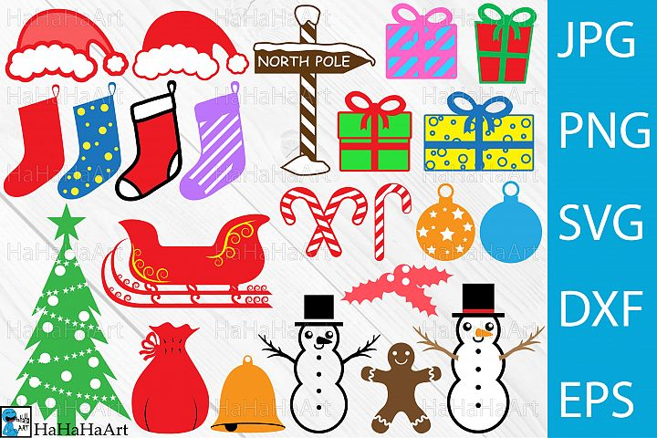 Christmas Designs - Clip art / Cutting Files - 67c