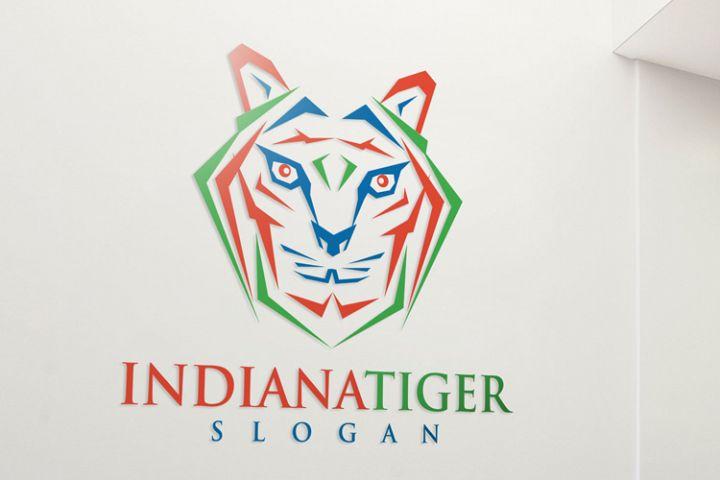 Indiana Tiger Logo Template