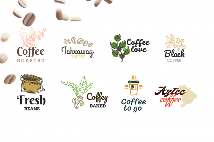 Coffee shop - Logo builder